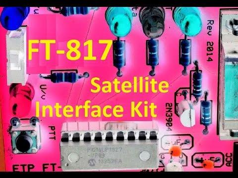 Yaesu FT-817 ARRL Satellite Interface Kit
