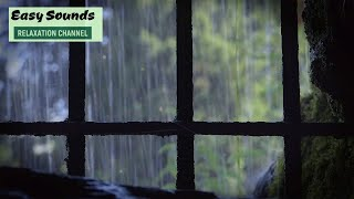 RAIN and THUNDER Sounds-Medieval Times-Heavy thunder for Sleep with Night Sounds-Relax-Study-8 HOURS