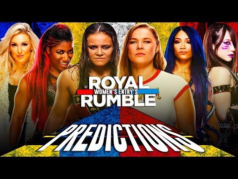 WWE ROYAL RUMBLE 2020 | FULL 30-WOMEN'S ENTRANCE PREDICTIONS