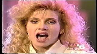 Lorella Cuccarini - La notte vola LIVE ad Odiens (1988)