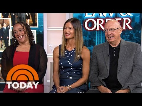 'Law & Order' Stars Look Back At Show's 25 Years | TODAY