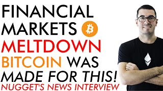 Financial Markets Price Meltdown [2020] - Bitcoin Was Made For This - Nugget's News Interview