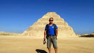 2020г ЕГИПЕТ. Саккара. Пирамида Джосера. Пирамида Усеркафа. Музей Имхотепа . ноябрь.
