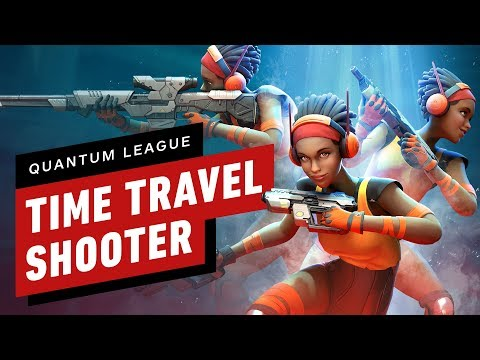 A Full Match Of Quantum League (Time Travel FPS)