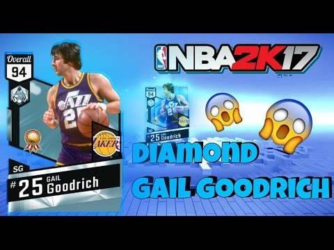 NBA 2K17 HISTORIC DOMINATION COMPLETED!!! DIAMOND GAIL GOODRICH!!! NBA 2K17 MYTEAM DIAMOND REWARD!!!