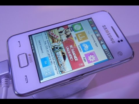 Samsung Rex 80 Smart Feature Hands On Phone Video Review- Features, Specifications And Price