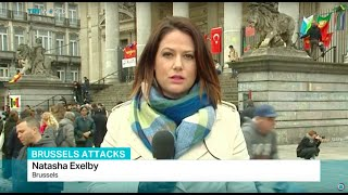 EU to consider how best to respond to bombings, Natasha Exelby reports