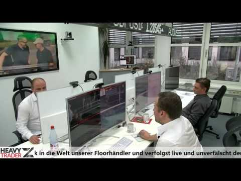 Live vom Tradingfloor - Wall Street Power Trading - Bechtle Trade des Tages