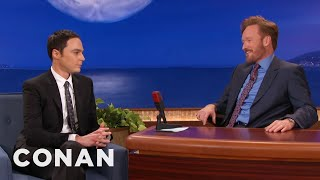 Jim Parsons Ruined His Mother's Christmas - CONAN on TBS