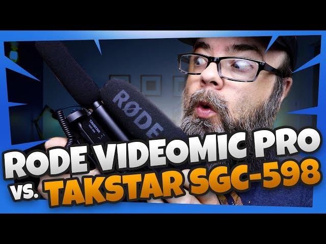 Takstar sgc-598 vs rode videomic pro