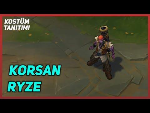 Korsan Ryze (Kostüm Tanıtımı) League of Legends