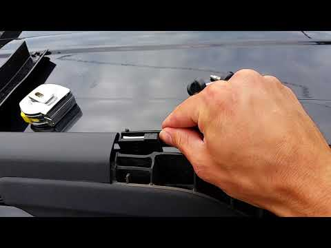 How To: 2011 - 2017 Explorer OEM Roof Rack CROSS Bars Instalation