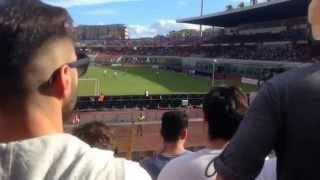 Siamo l'armata rossoazzurra! Catania Catanzaro 4-1 spettacolo allo stadio Angelo Massimino