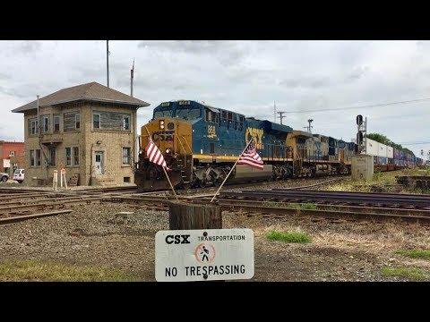 Baltimore And Ohio RR Crossroads, Exploring Deshler Ohio! CSX