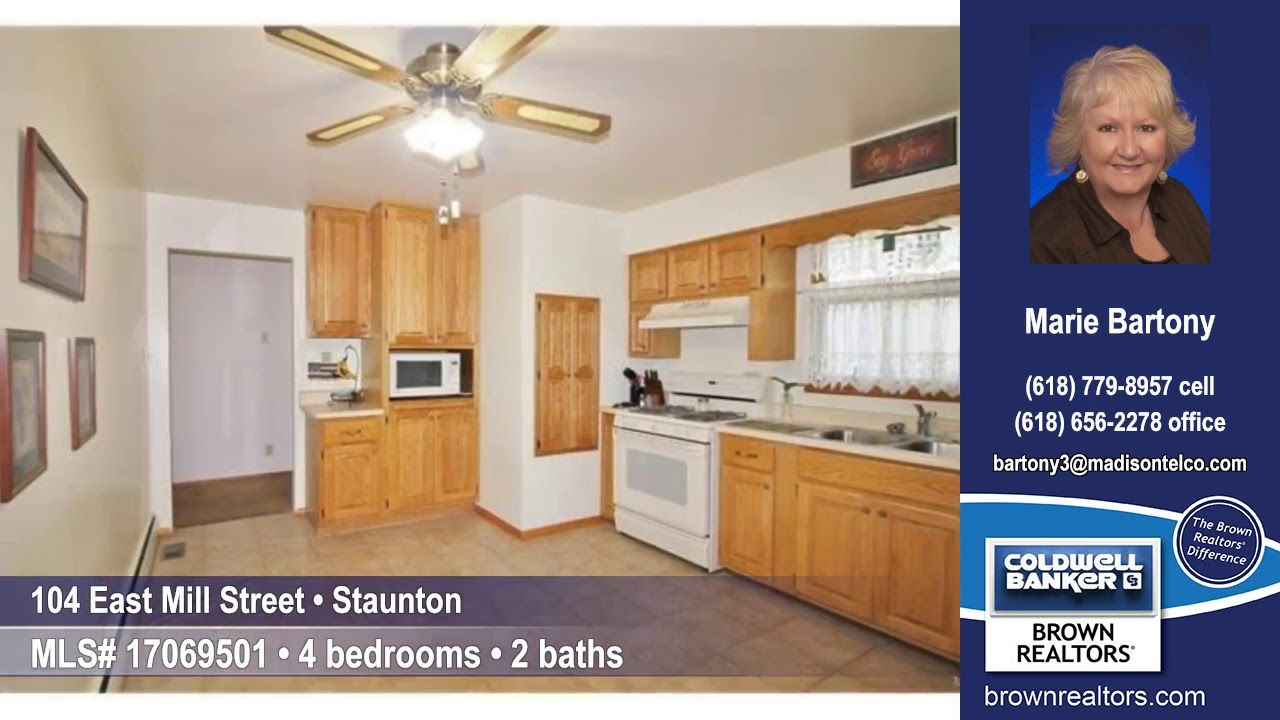 104 East Mill Street, Staunton, IL 62088 $134,900 Home for Sale ...