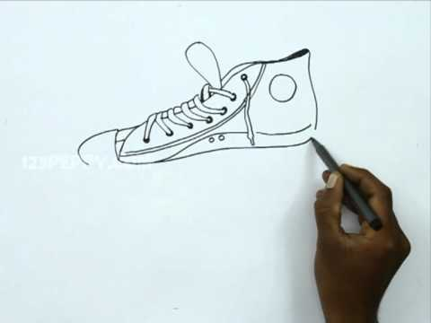 converse time lapse drawing doovi