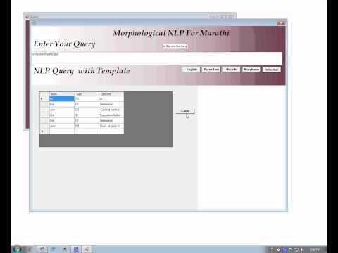 Paradigm Based Finite State Morphological Analyzer for Marathi Dotnet project