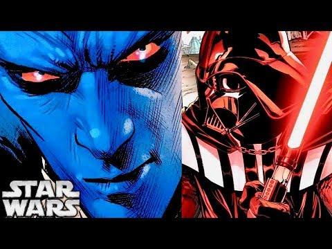 Why Thrawn Had Plans to KILL Darth Vader! Canon