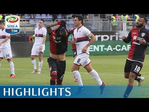 Cagliari - Genoa - 4-1 - Highlights - Giornata 20 - Serie A TIM 2016/17
