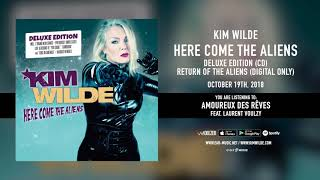 "Kim Wilde ""Amoureux des rêves"" feat. Laurent Voulzy - Official Song Stream"