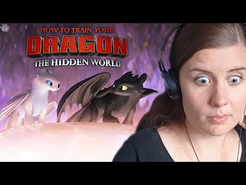 Silver Reacts: How to train your Dragon: The Hidden World - TRAILER #2!