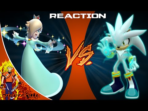 ROSALINA vs. SILVER: FINAL FACE-OFF! Cartoon Fight Club Reaction
