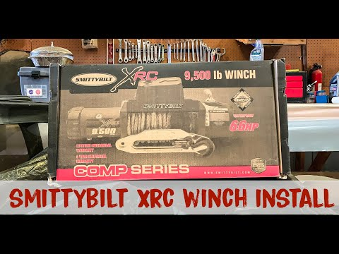 Smittybilt Gen 2 XRC 9500lb Winch install