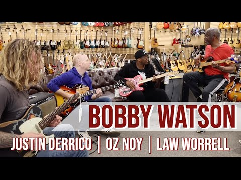 Bobby Watson With Law Worrell, Oz Noy & Justin Derrico At Norman's Rare Guitars