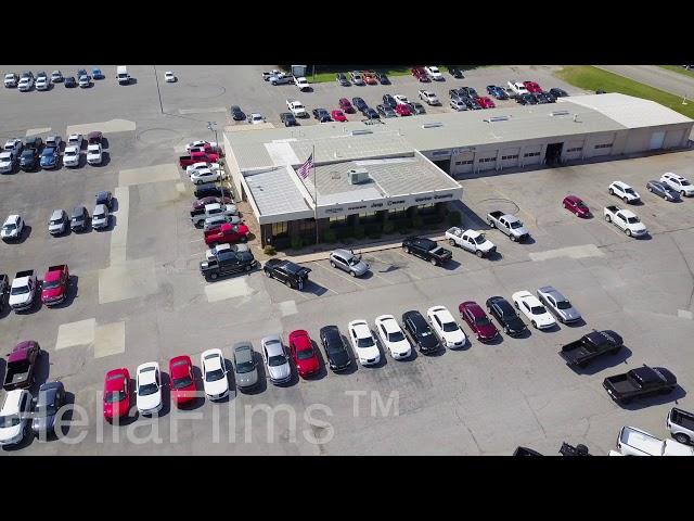 Dodge Dealership Aerial Photography - HellaFilms