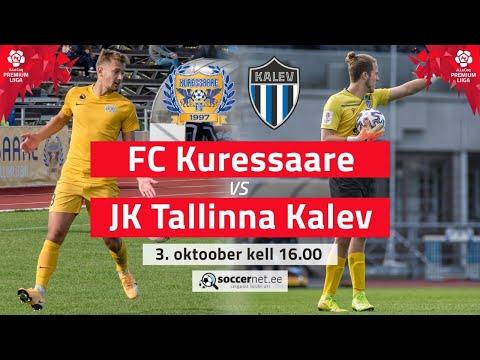 Kuressaare FC Tallinna Kalev Goals And Highlights