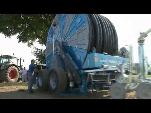 Casella PLLSMP-4R 150 in campo - Hose Reels - Irrigation