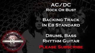 AC/DC - Rock Or Bust - Backing Track + Rhythm Guitar