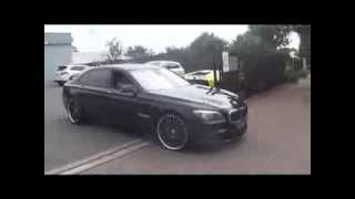 BMW 760LI V12 Biturbo Fast ACCELERATION + Start Up