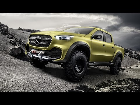HOT NEWS!! 2020 Mercedes Pickup Truck: EXCLUSIVE! Review - Furious Cars