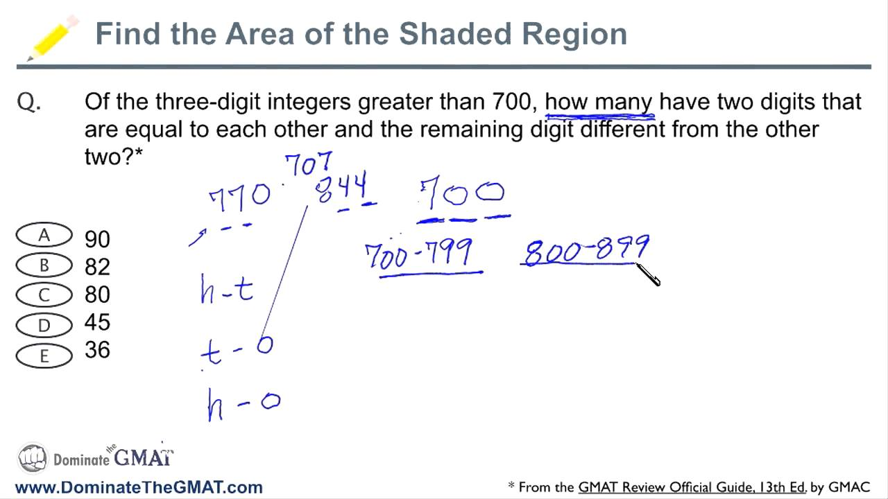 "GMAT Strategies - ""How Many Ways?"" GMAT Math Questions"