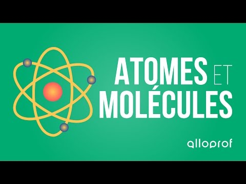Alloprof - Atomes et molécules sciences