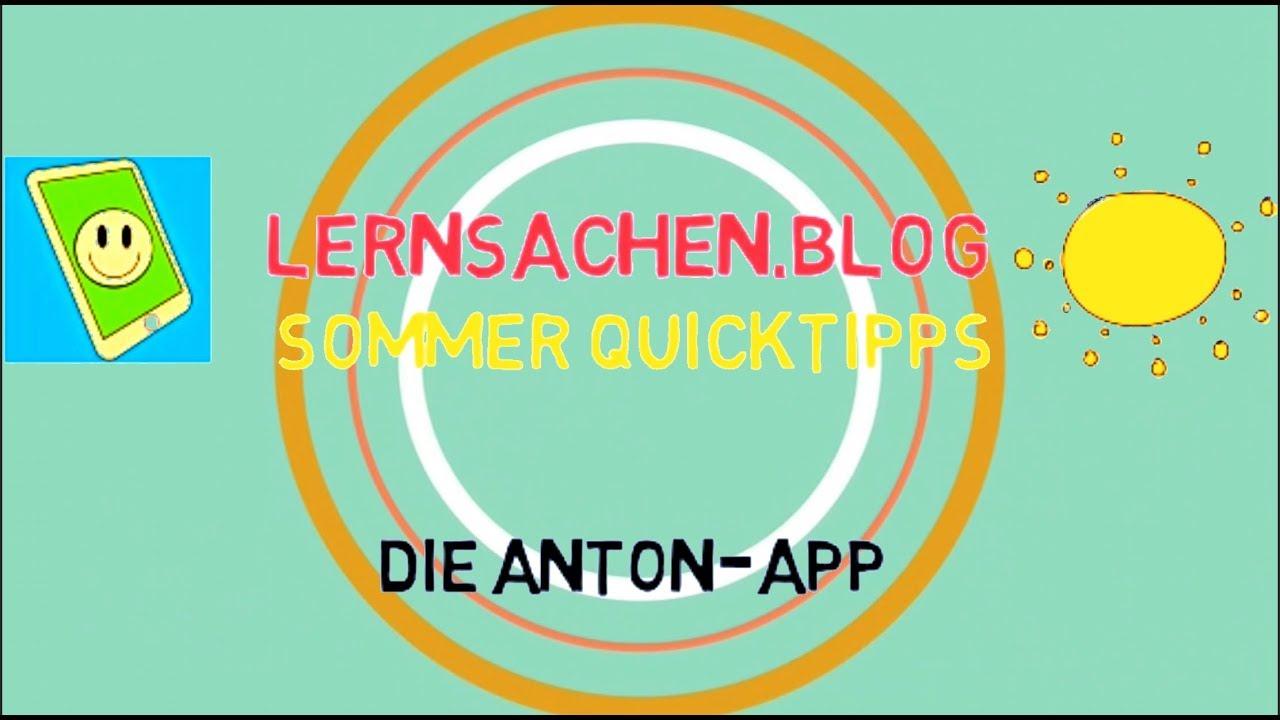Die Anton-App
