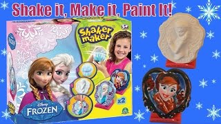 Disney Frozen Shaker Maker from Movie Frozen - Paint your own Queen Elsa Princess Anna Sculptor