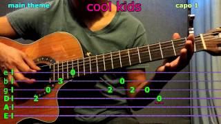 cool kids echosmith guitar chords