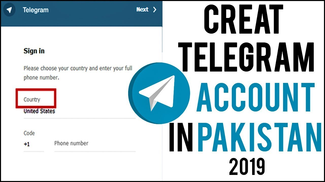 How to Creat A Telegram Account in pakistan 2019