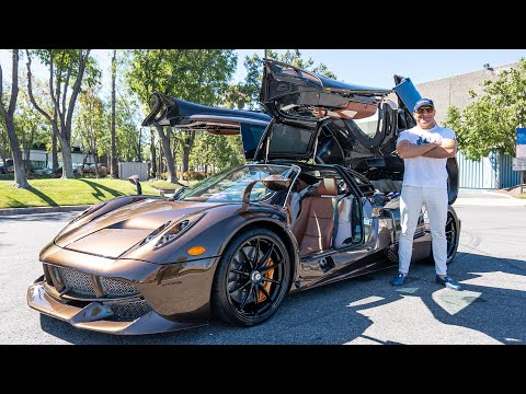 I GOT A MESSAGE FROM PAGANI ABOUT UPGRADING MY HERMES HUAYRA! || Manny Khoshbin