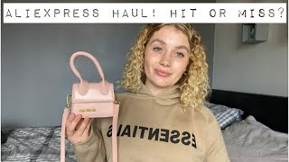 AliExpress haul! Hit or miss? Jaquemus dupe, essentials hoodie dupe...