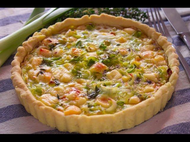 في الفرن - تارت اومليت بالكرات والجبنة + خبز بدقيق الذرة والفلفل الحار - الجزء الأول