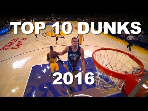 Top 10 Dunks of 2016