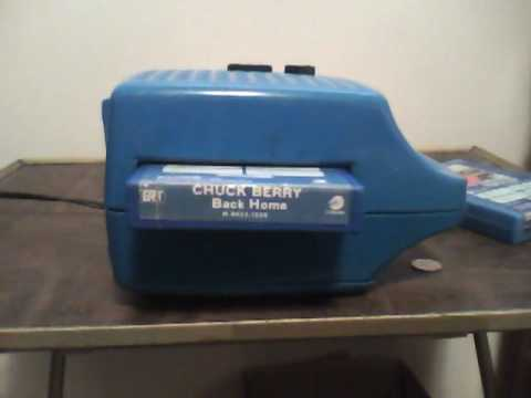 Tulane Chuck Berry--on 8-track tape!