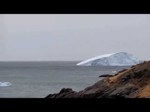 Icebregs in Conception Bay North, Newfoundland Canada May 10th 2014