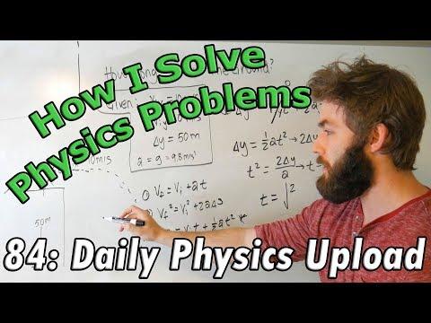 Good Problem Solving Habits For Freshmen Physics Majors