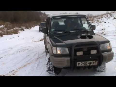 2003 Hyundai Galloper LWB Specification - YouTube