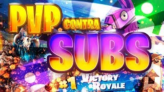 Jugando PVP vs subs en FORTNITE PS4 / Daraya E-SPORTS