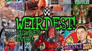WEIRDEST WWE Action Figures EVER!!! Starring Wrestle With Andy